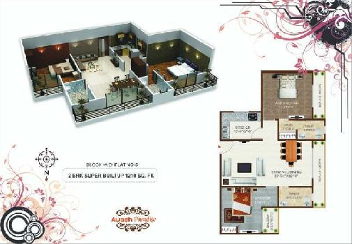 2 BHK Flat For Sale In Airport Road, Harahua, Varanasi