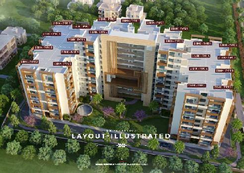 3 BHK Flat For Sale In Awadh Ambrosia, Harahua Varanasi