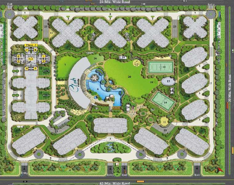 3 BHK Flat For Sale In Pocket -6, Sushant Golf City, Lucknow