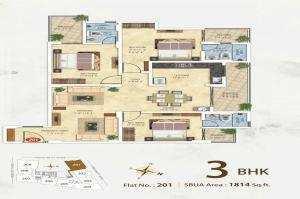 3 BHK Flats & Apartments for Sale in Vaishali Nagar, Jaipur