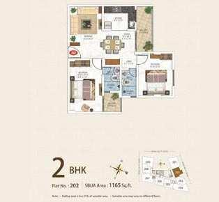 2 BHK Flat for Sale in Vaishali Nagar, Jaipur