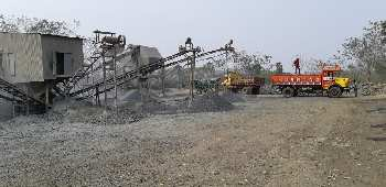 Crusher Industry with Mining land