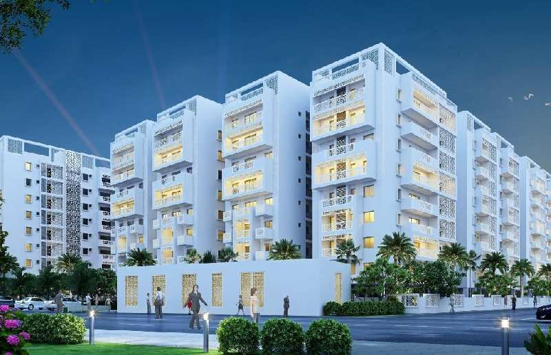 Vaishnavi Oasis Tower  C 3 bhk , Eco Apartment