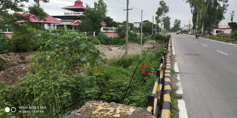 15 BISWA PLOT FOR SALE ON NH ROAD BETWEEN MAJRA TO MISSRWALA PAONTA SAHIB