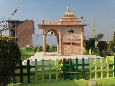 RESIDENTIAL PLOT AVAILABLE IN GATED SOCIETY