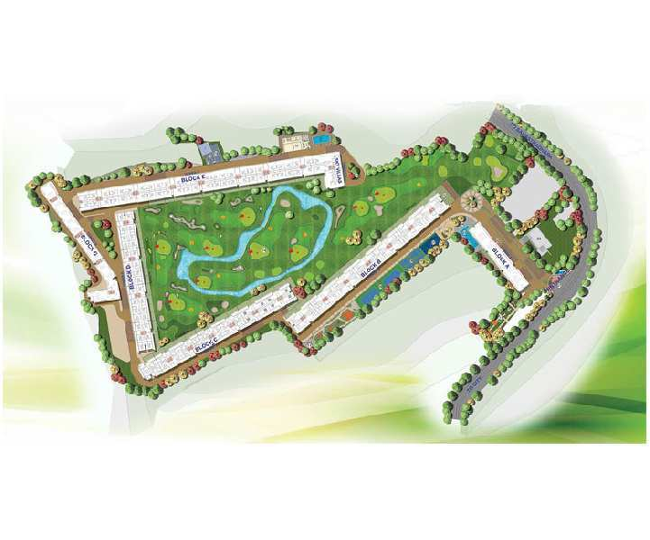 1 BHK Flat For Sale In Pacific Golf Course Sahastradhara Road