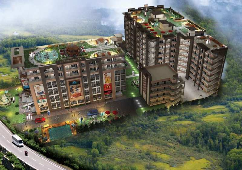 1 BHK Studio Apartment For Sale In Tak The Forest Residency Mussoorie Road
