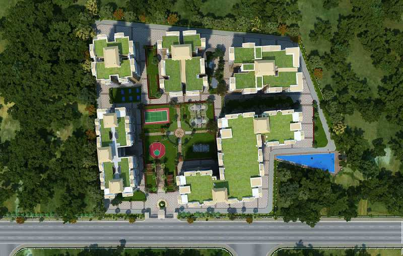 3BHK Flat For Sale in Arcadia Greens  Mussoorie Road