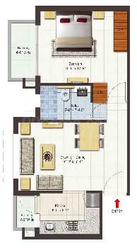 1bhk flat for sale in bhiwadi
