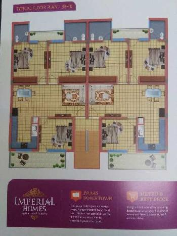 Residential Flat for Sale in Imperial Homes, Patiala Road Highway, Zirakpur