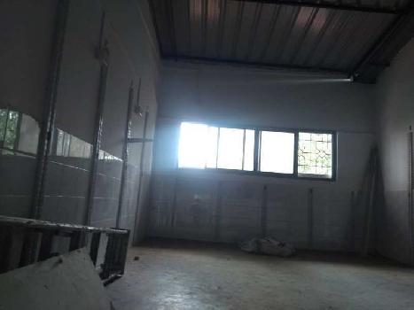 industrial plot with shed for sale in Sancoale industrial estate