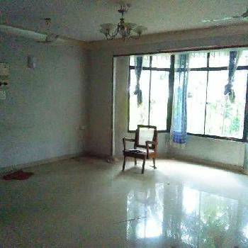 3 BHK semifurnished flat for rent