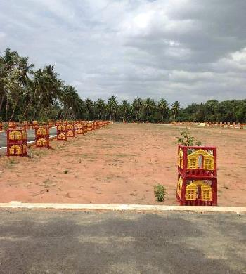 Residential DTCP Plot For Sale in Gnanam Arulmery Nagar, Thanjavur