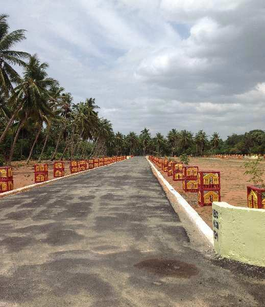 Residential DTCP Plot For Sale in Gnanam Arulmery Nagar, Thanjavur