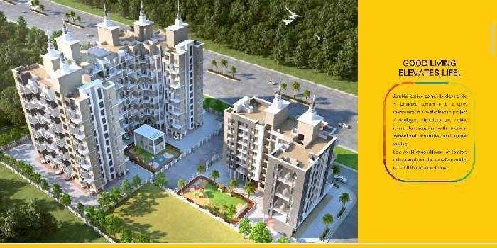 INVEST INNFLATS AT CHAKAN PUNE WITH ASSURED RENTAL INCOME!!