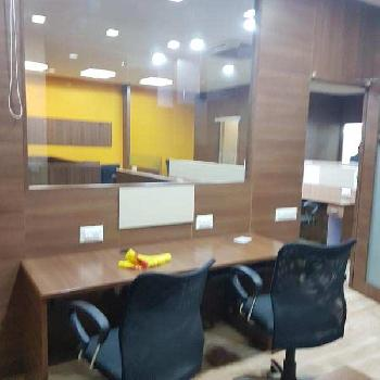 Fully furnished 2200 sq feet office at main s.g highway