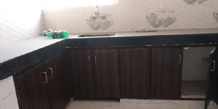 Semi furnished flat near krishna nagar metro station
