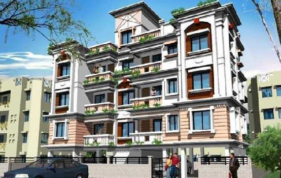 2BHK flat on 4th floor top floor near agarpara Station at 16.50Lakhs