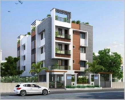 2BHK flat 750sq.ft on 3rd floor road facing near agarpara station