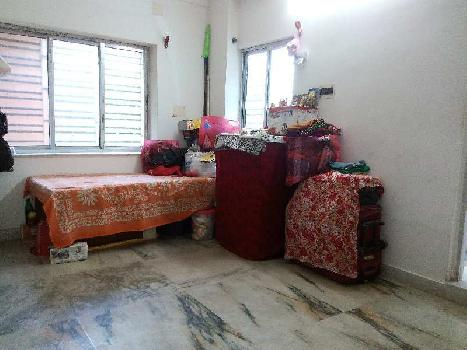 2BHK flat on 1st floor of 650sq.ft at only 13Lakhs  near Garapara North station Road Resale of 7Years but very well maintained
