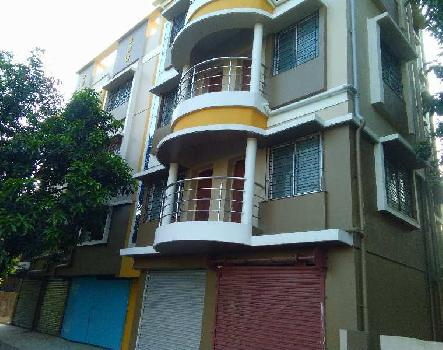G+3 3Bhk flat on 2rd floor 1220sq.ft near Belgharia 2No rail gate new project newly at 34 Lakhs