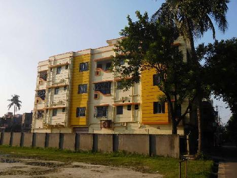 2bhk flat in belgharia for sale on 2nd floor with lift near KCC mitra street