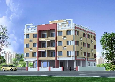 1050sq.ft 2BHK Ready to Move New Flat On 2nd Floor at 27.50 Lakhs near Belgharia Station
