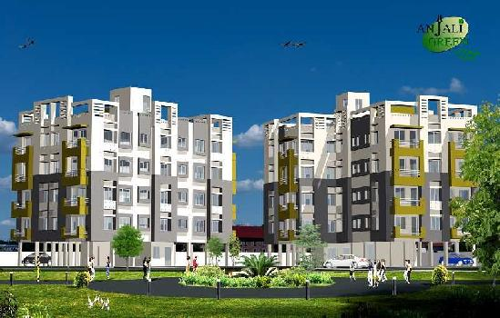 868sq.ft 2 BHK Apartment in Anjali Green Residential Complex at Sulanggari, Hatiara, Kolkata, West Bengal 700059