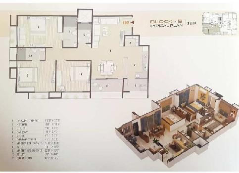 3 BHK Flat For Sale In Chandkheda Ahmedabad