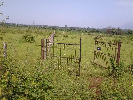 9300 Sf NA plot sale 16 kms from Vangani