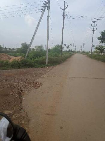 10000 Sqft Residential Diversion Plot For Sale At Besides Jain Temple , Romanceque Villas Aishwarya Empires  Road , Labhandi Raipur Capital Of Chhattisgarh India.