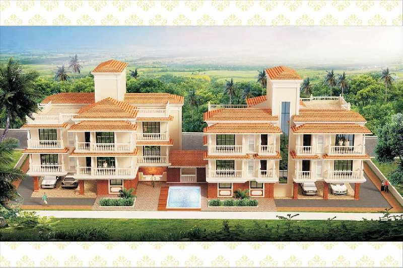 1 BHK Flats & Apartments for Sale in Siolim, North Goa, Goa