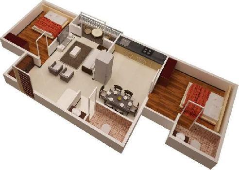 2bhk flat in panchavati