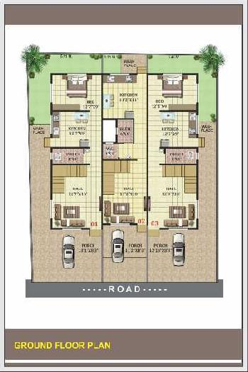 2BHK &3BHK ROW BUNGALOW LUXARIOUS & SPECIOUS