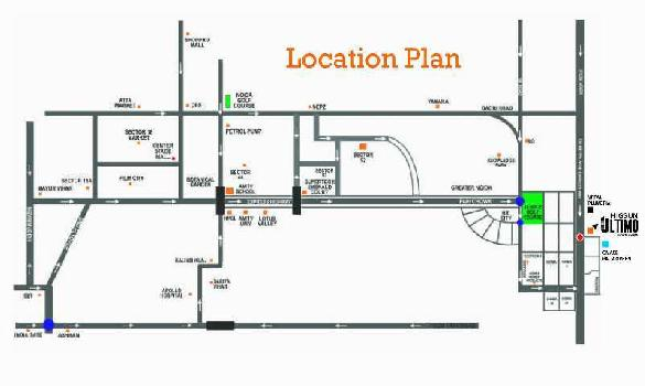 3 BHK FLAT WITH 2 TOILET IN MIGSUN ULTIMO