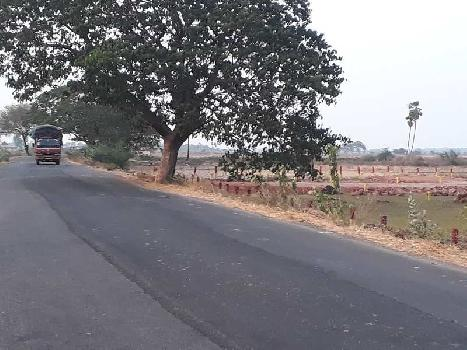 State highway facing residential plots