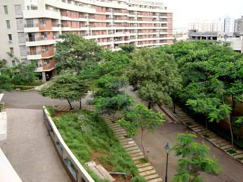 3 BHK flat on rent in Crescent, The Woods, Wakad.