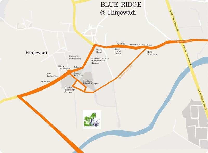 1730 sq.ft Unfurnished 3 BHK Flat on Rent in Paranjape Blue Ridge, Hinjewadi.