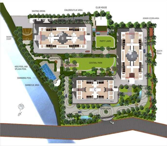 2 BHK Flats Available On Rent In Pebbles I, Bavdhan.