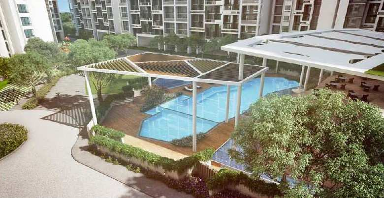 2 BHK 1050 Sq-ft Flat For Sale in Bavdhan, Pune