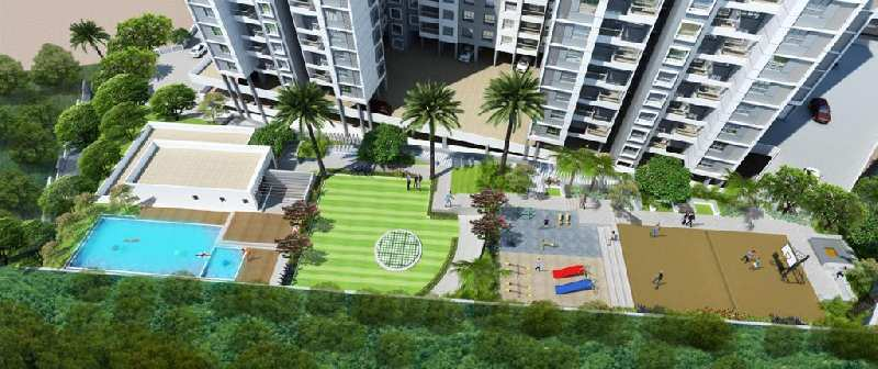 Bhugaon, Mont Vert Kingstown, Available 2BHK 950 Built-up sq.ft. Flats in Booking