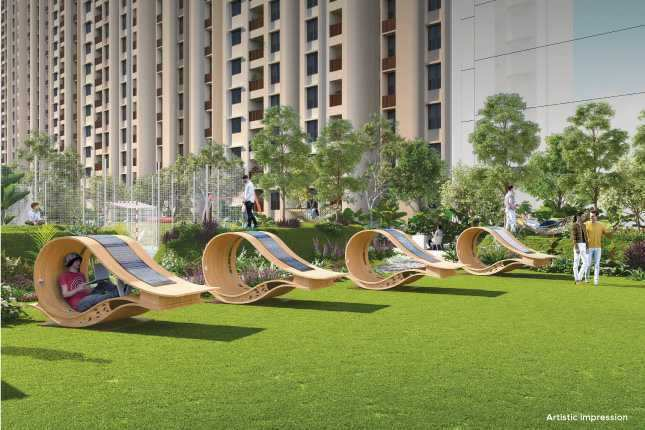 Tathawade, Mahindra Happinest, Available 1BHK 605 sq.ft. Built-up in Booking