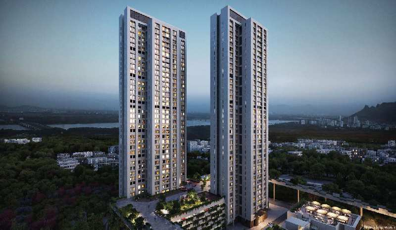 3 BHK Flats & Apartments for Sale in Thane West, Thane