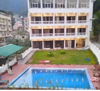 350 Sq. Yards Hotel & Restaurant for Sale in Rishikesh