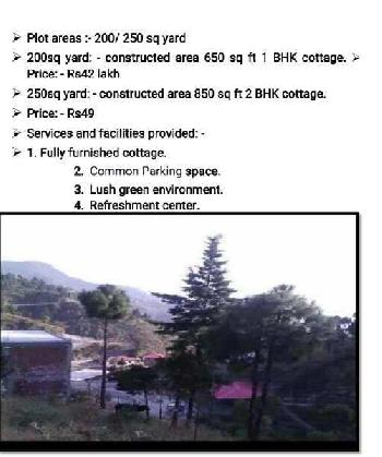 Cottage project in mussoorie