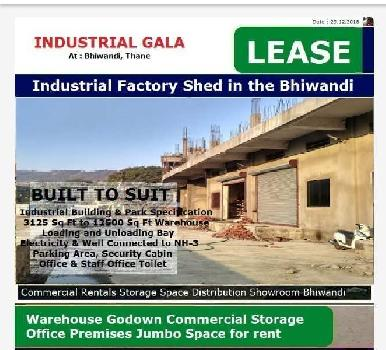 6000 Sq.ft. Warehouse/Godown for Sale in Maharashtra