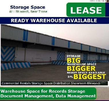 70000 Sq.ft. Warehouse/Godown for Rent in Bhiwandi, Thane