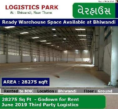 Ready Warehouse for rent in Bhiwandi
