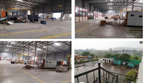 35000 Sq.ft. Warehouse/Godown for Rent in Talegaon, Pune