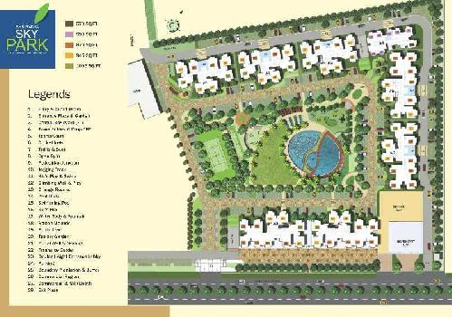 2 BHK Flat For Sale In Sky Park, Noida Extension